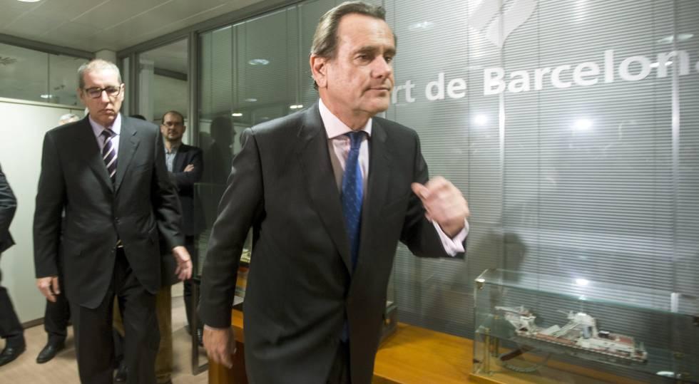 El presidente del puerto de barcelona vincula los for Oficina de registro barcelona