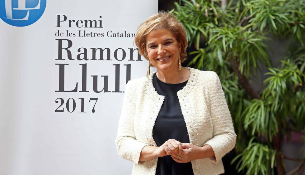 La ganadora del Premi Ramon Llull 2017, Pilar Rahola.