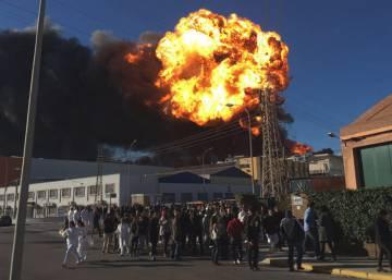 Incendio en paterna estabilizado el pavoroso incendio en - El tiempo en paterna valencia ...