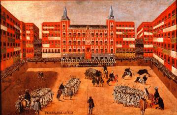 Ilustración de la Plaza Mayor.