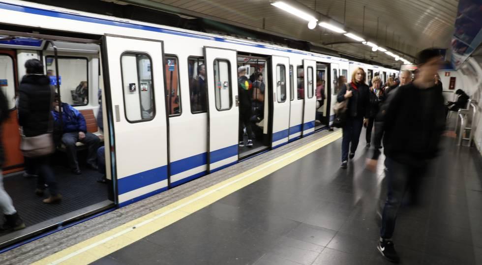 Estación de Pacífico de la Línea 1 del Metro de Madrid