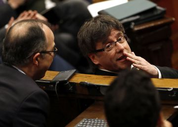 Puigdemont explora respectar el Consell de Garanties amb una via alternativa a la CUP