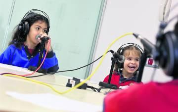 Clase radiofónica, en Brains María Lambillo, en Arturo Soria.