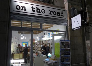 Jack Kerouac sigue vivo en la librería On the road
