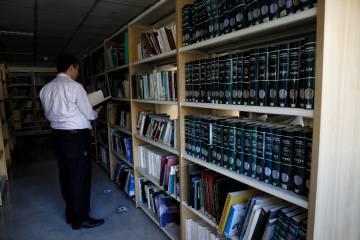 La biblioteca del centro.