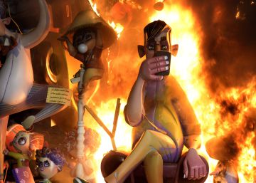 "Towns throughout Valencia burn the ""best Fallas in history"""