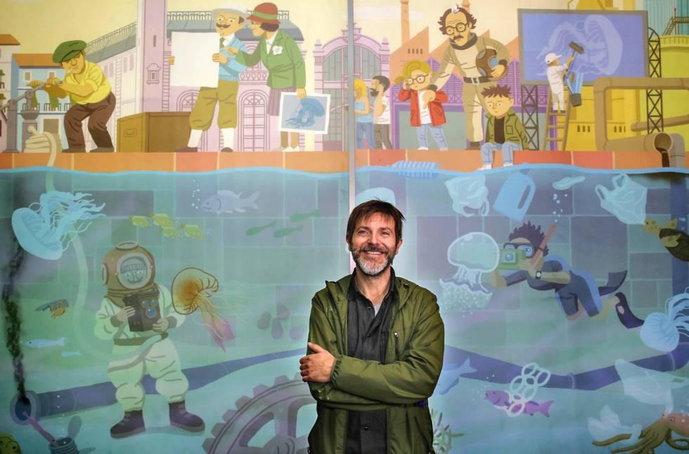 El ilustrador paco roca con las medusas comunidad for Promociones oceanografic