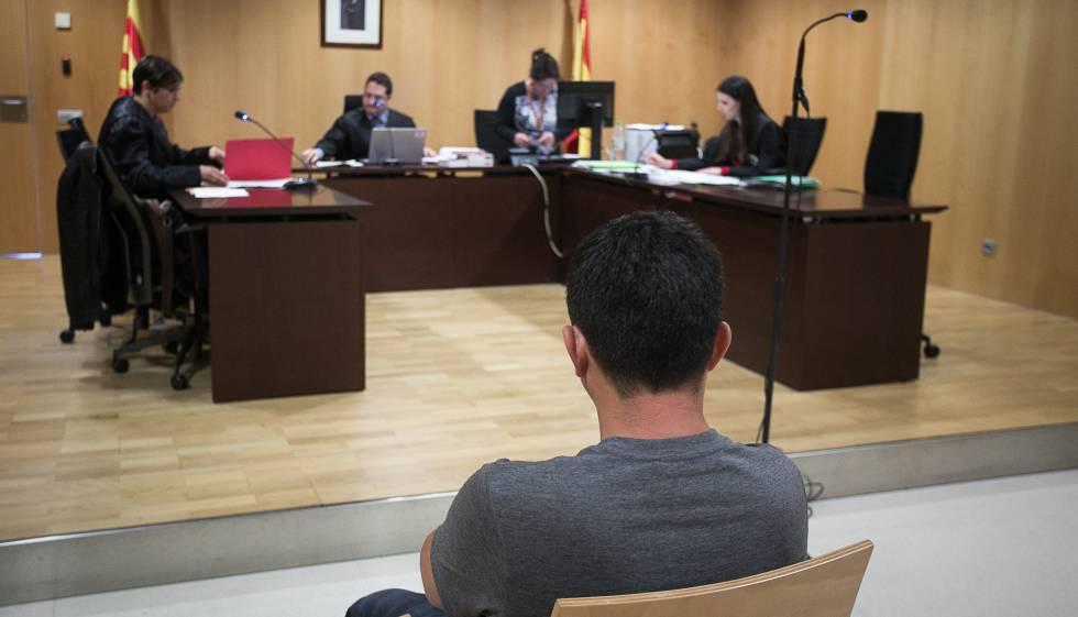 Héctor Manuel, durante el juicio.