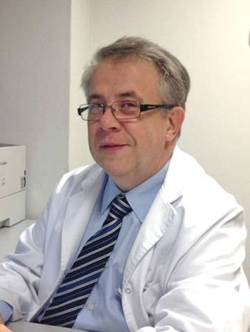 Jaume Padrós, president del Col·legi Oficial de Metges de Barcelona
