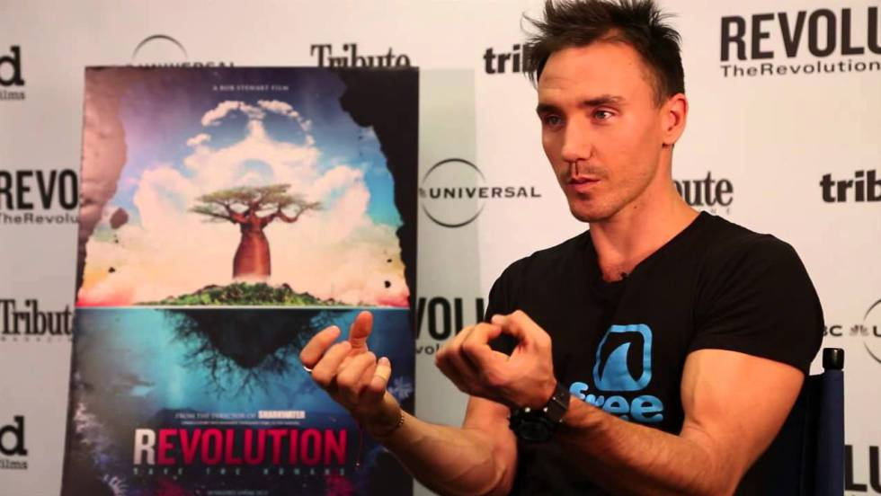 Rob Stewart, director del documental Revolution.