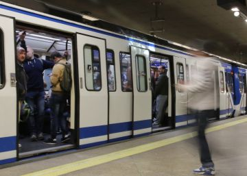 Boy loses both legs after jumping between trains on Madrid Metro