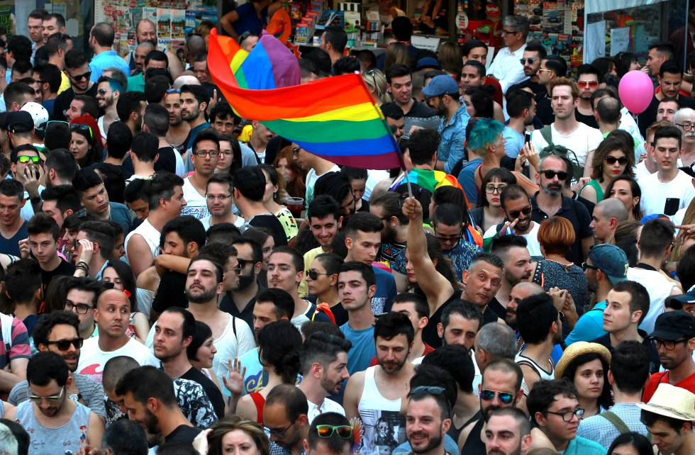 Last year's Madrid pride event.