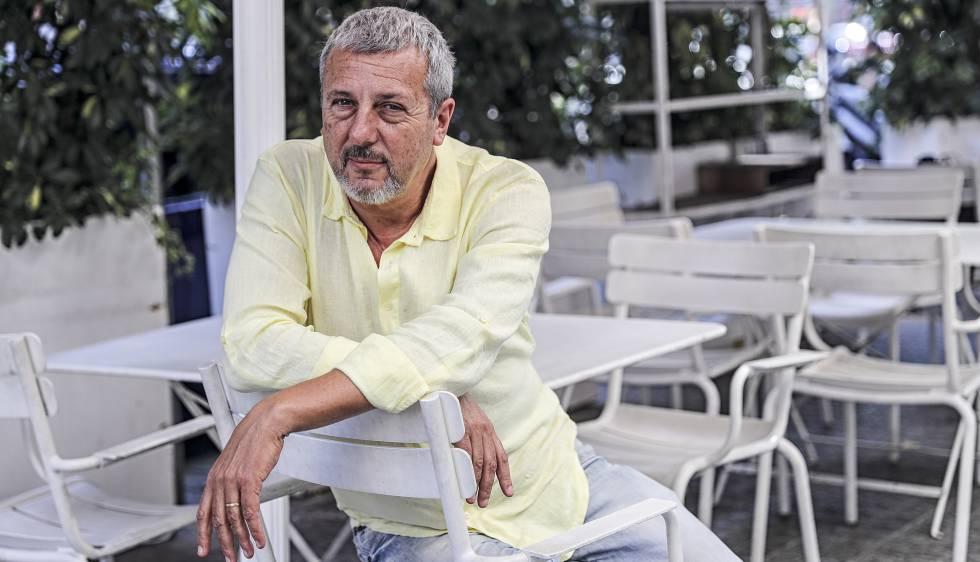 Marcos Hourmann, fa uns dies a Barcelona.