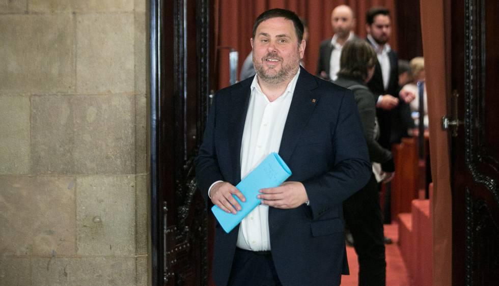 El vicepresidente del Gobierno catalán, Oriol Junqueras.
