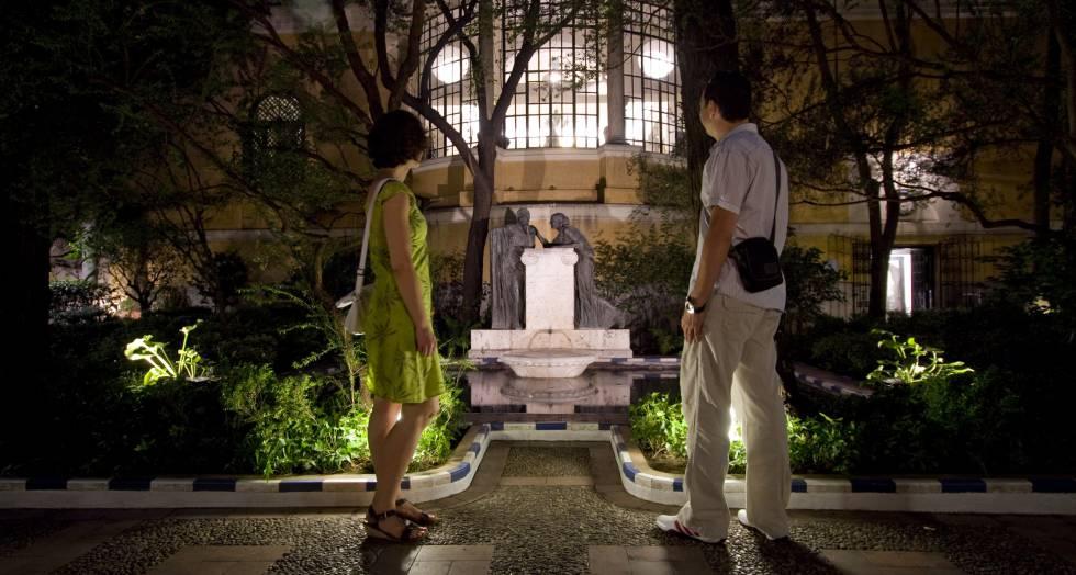 Jardines de museos madrid el pa s for Jardines 29 madrid