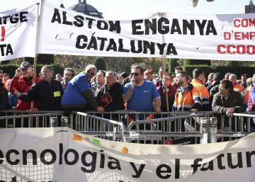 Los empleados de Alstom irán a la huelga por el convenio