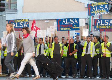 La empresa de transporte Irubus denuncia sabotajes en 20 autobuses por la huelga en la Sierra Oeste