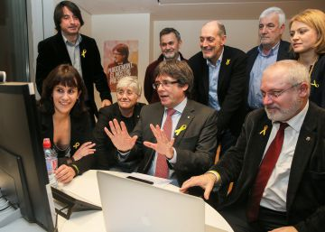 "Carles Puigdemont: ""The Catalan republic has won the elections"""