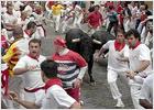 Los toros de Juan Pedro Domecq protagonizan un encierro limpio