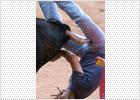Un herido grave por asta de toro en el segundo encierro de Leganés