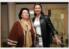 Caballé y Montserrat Martí cantan juntas en 'Cleopatra'
