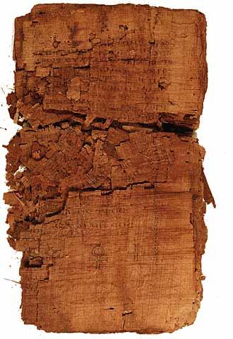 Una imagen del manuscrito poco antes de que inciasen los trabajos para su restauración.