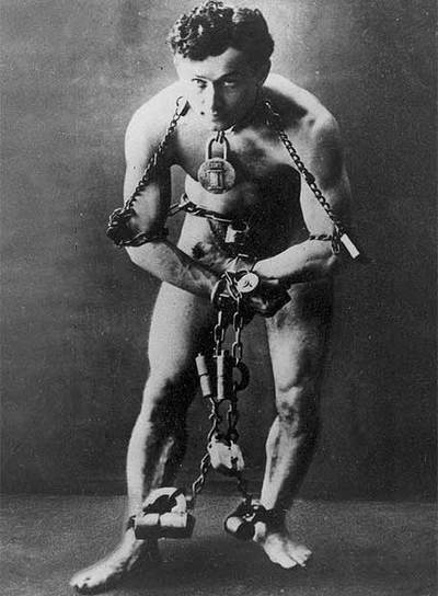 Harry Houdini, en 1899