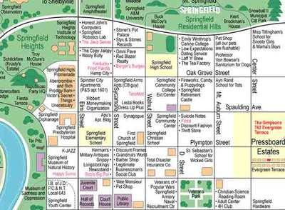 Mapa de Springfield
