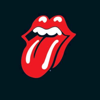 Un logotipo de los Rolling Stones