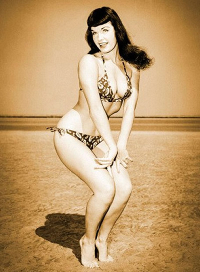Muere Bettie Page, legendaria 'pin-up' de los cincuenta