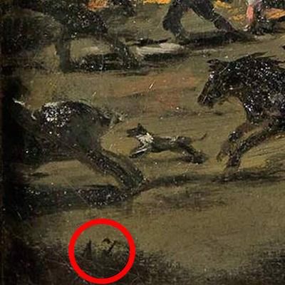 'El Coloso' es de un 'discípulo de Goya'