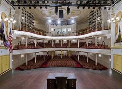 Reabre El Teatro En El Que Asesinaron A Lincoln Cultura