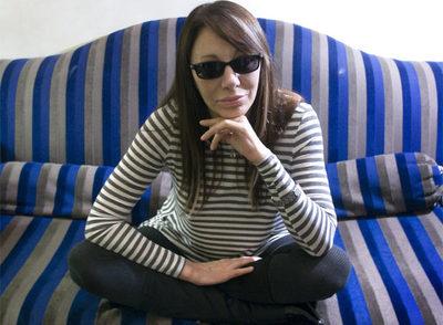 Adriana Varela, ayer en Barcelona.