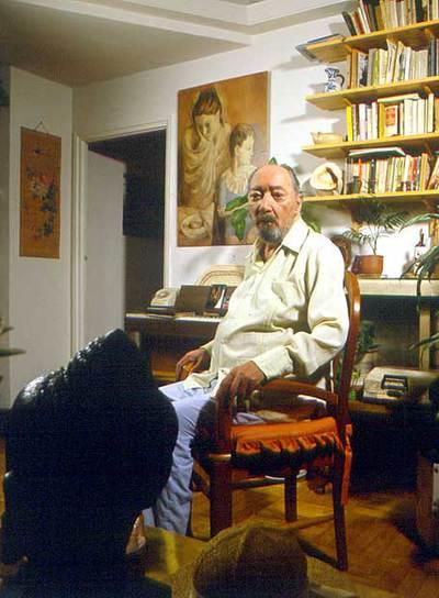 Juan Carlos Onetti, en una imagen de 1989.