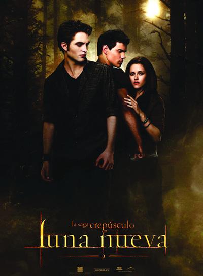Cartel promocional de 'Luna nueva', la segunda entrega de la la saga 'Crepúsculo'