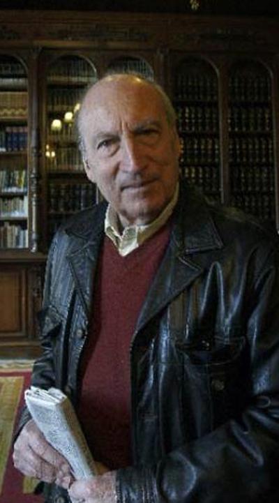 El escritor, el año pasado en uno de los salones de la Casa de América de Madrid.