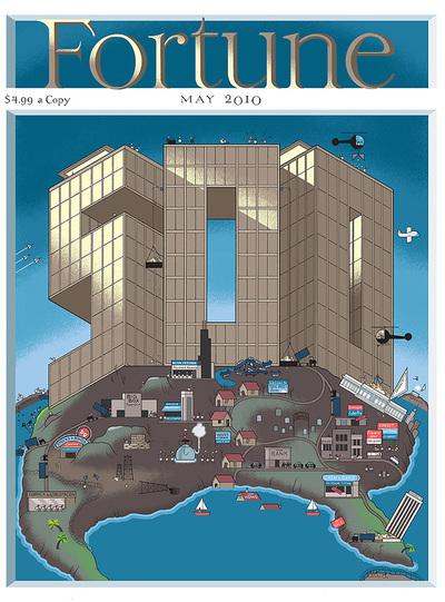 'Fortune' rechaza una portada que satiriza el capitalismo de EE UU