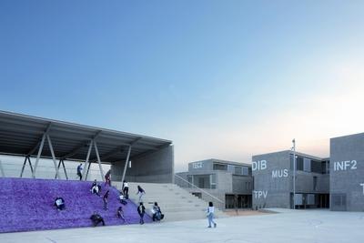 FOTOGALERIA: Instituto de enseñanza secundaria IES Rafal, en Alicante