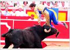 El Juli sufre una cornada en Pamplona