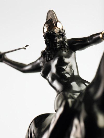 El mito de las antiguas guerreras de la mitología griega centra la exposición 'Amazonas. Guerreras misteriosas', en el Museo del Palatinado, en Espira (Alemania).