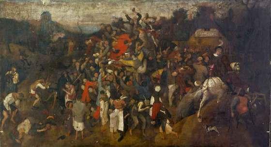'El vino en la fiesta de San Martín', de Peter Bruegel 'El Viejo'.