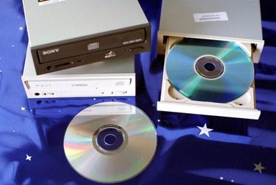 Grabadoras de CD.