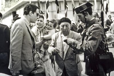 Fotograma de la película  El verdugo  (1963), de Luis García Berlanga.