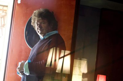 El cantaor Enrique Morente, en una imagen de archivo tomada en 2008 en un estudio de grabación de Mejorada del Campo (Madrid).