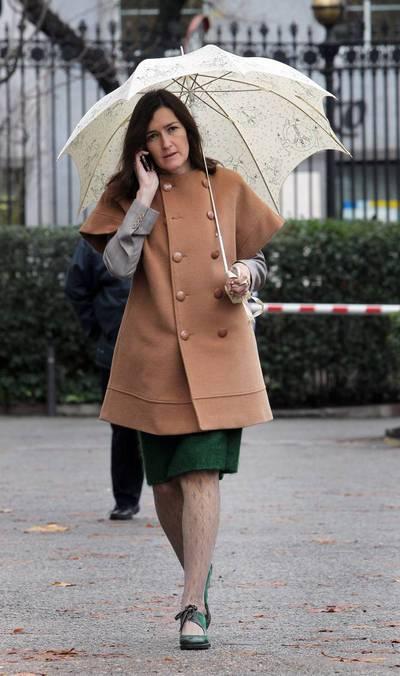 La ministra de Cultura, Ángeles González-Sinde, a su llegada al Congreso de los Diputados en una foto de archivo.