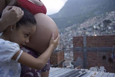 Visita de una favela en Río de Janiro