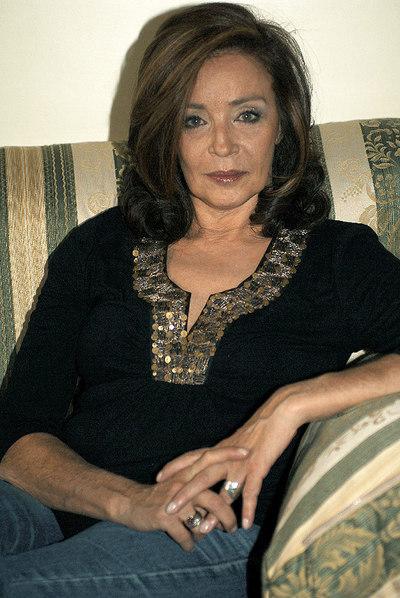 Amparo Muñoz, en una imagen tomada en noviebre de 2005, el mismo año en el que presento su biografía.