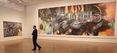 El Museo Bellas Artes de Bilbao rinde homenaje al pintor chileno surrealista Roberto Matta en el 100 aniversario de su nacimiento