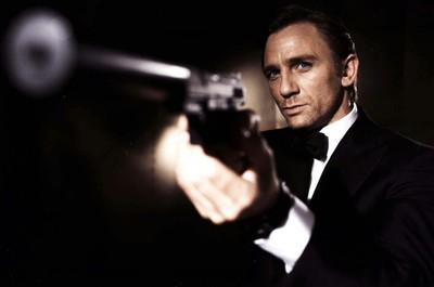 El actor Daniel Craig, en el papel de James Bond.