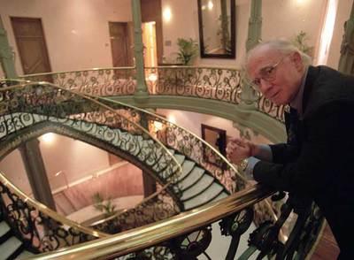 Teddy Bautista, en la sede de la Sociedad General de Autores.